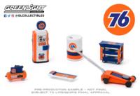 """Auto Body Shop - Conjunto de herramientas de taller """"Union 76"""" Greenlight 1/64"""