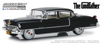 """Cadillac Fleetwood Serie 60 (1955) Serie Especial con figura """"Don Corleone""""Greenlight 1/18"""