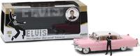 Cadillac Fleetwood Serie 60 con figura de Elvis Presley (1935-77) Greenlight 1/43