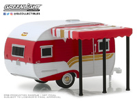 Catolac DeVille Travel Trailer with awning (1959) Greenlight 1/64