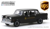 Checker Taxi - version reparto UPS 1975 Greenlight 1/64