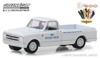 "Chevrolet C-10 (Blanco) Indianapolis ""Carrera de las 500 millas"" (1967) Greenlight 1/64"