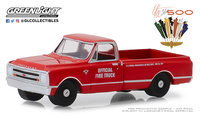 "Chevrolet C-10  51 edición Indianapolis ""Carrera de las 500 millas"" (1967) Greenlight 1/64"