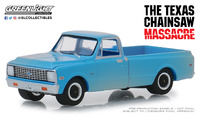 "Chevrolet C-10 de (1971) ""La Matanza de Texas"" (1974) Greenlight 1/64"