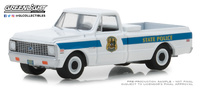 "Chevrolet C10 ""Policía estatal de Delaware"" (1972) Greenlight 1/64"