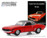 "Chevrolet Camaro SS ""A Word Or Two To The Competition: You Lose."" (1969) Greenlight 1:64"