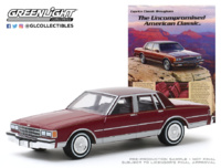"Chevrolet Caprice ""Vintage Ad Cars Series 2"" (1986) Greenlight 1/64"