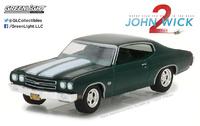 """Chevrolet Chevelle SS 396 """"John Wick 2"""" (1970) Greenlight 1:64"""