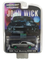 "Chevrolet Chevelle SS 396 ""John Wick 2"" (1970) Greenmachine 1/64"
