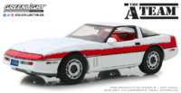 "Chevrolet Corvette C4 ""El Equipo A"" (1984) Greenlight 1/18"