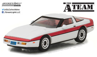 "Chevrolet Corvette C4 ""El Equipo A"" (1984) Greenlight 1/43"