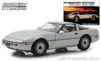 "Chevrolet Corvette C4 ""Vintage Ad Cars"" (1984) Greenlight 1/18"