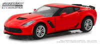 Chevrolet Corvette Z06 Coupé Rojo (2019) Greenlight 1/24
