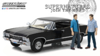"Chevrolet Impala SS ""Supernatural"" y figuras (1967) Greenlight 1/18"