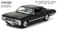 "Chevrolet Impala Sport Sedán ""Supernatural"" (1967) Greenlight 1/24"