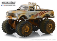 "Chevrolet K-10 Monster Truck ""Dirty"" (1971) Greenlight 1/64"