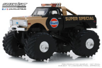 "Chevrolet K-10 Monster Truck ""Gulf Oil Super Special"" (1977) 66"" pulgadas Greenlight 1/43"