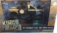 "Chevrolet K-10 Monster Truck ""Gulf Oil Super Special"" (1977) 66"" pulgadas Greenmachine 1/43"
