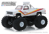 "Chevrolet K20 Silverado - Monster Truck (1981) ""Southern Sunshine"" Greenlight 1/64"
