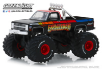 "Chevrolet K20 Silverado - Monster Truck (1987) ""Excaliber"" Greenlight 1/64"