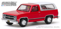 Chevrolet K5 Blazer 1991 (Houston 2019) Greenlight 1/64