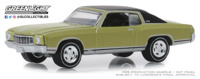"Chevrolet Monte Carlo SS 454 ""Muscle series 22"" (1971) Greenlight 1/64"
