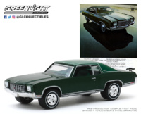 "Chevrolet Monte Carlo ""Vintage Ad Cars Series 2"" (1970) Greenlight 1/64"