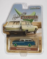 "Chevrolet Nomad 1955 - ""Turquesa y marfil"" Serie 3 State Wagons Greenmachine 1/64"