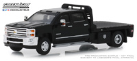 "Chevrolet Silverado 3500 ""Dually Flatbed"" (2018) Greenlight 1/64"