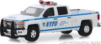 Chevrolet Silverado Departamento de policía de Nueva York (2015) Greenlight 1/64