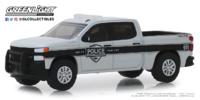 """Chevrolet Silverado SSV """"SSV General Motors Fleet Police"""" (2019) Greenlight 1/64"""