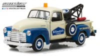 "Chevy 3100 Pickup BF Goodrich Service ""Running on Empty Series 1"" (1953)  Greenlight 1/43"