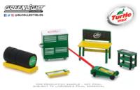 """Conjunto de herramientas """"Auto Body Shop Turtle Wax"""" Greenlight 1/64"""