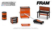 """Conjunto de herramientas GL Muscle de """"Filtros de aceite Fram"""" Greenlight 1/64"""