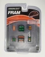 """Conjunto de herramientas GL Muscle de """"Filtros de aceite Fram"""" Greenmachine 1/64"""