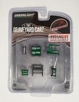 """Conjunto de herramientas """"Graveyard  Carz"""" Greenmachine 1/64"""