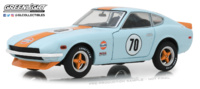 "Datsun 240Z Gulf ""Gulf Oil"" (1970) Greenlight 1/24"