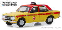 Datsun 510 Sedán - Custom Taxi (1970) BRE Greenlight 1/64
