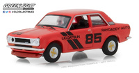 Datsun 510 nº 85 Raydaddy (1971) Greenlight 1/64 Rojo