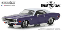 """Dodge Challenger R/T """"Graveyard Carz"""" (1970) Greenlight 1/43"""
