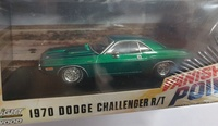 """Dodge Challenger R/T """"Vanishing Point"""" (1970) Greenmachine 1/43"""