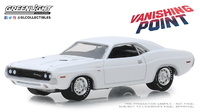 "Dodge Challenger R/T de 1970 ""Vanishing Point"" (1971) Greenlight 1/64"
