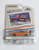 "Dodge Charger Daytona - USPS ""American on the Movie"" (1969) Greenmachine 1/64"
