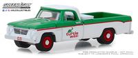 """Dodge D-100 """"Turtle Wax"""" (1962) Greenlight 1/64"""
