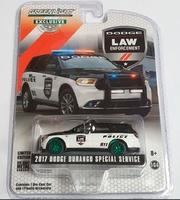 """Dodge Durango """"Servicio especial de policía de Durango"""" (2017) Greenmachine 1/64"""