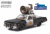"""Dodge Mónaco - Bluesmobile con altavoz """"Granujas a todo ritmo"""" (1974) Greenlight 1/43"""