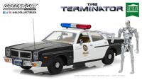 "Dodge Monaco - Metropolitan Police ""Terminator"" with figure (1977) Greenlight 1:18"