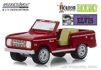 "Ford Bronco ""Elvis Presley""Rodeo Houston del mundo (1974) Greenlight 1/64"
