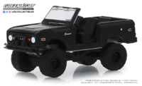 "Ford Bronco ""Sin puertas"" Serie Black Bandit 21 (1969) Greenlight 1/64"