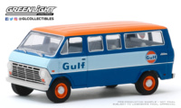"Ford Club Wagon ""Gulf Oil"" (1968) Greenlight 1/64"
